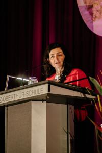 Grußwort von unserer Landratskandidatin Christine Haupt-Kreutzer (Foto: Maurice Schönen)