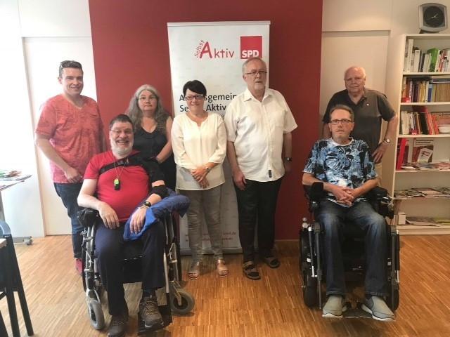Der Vorstand unserer Arbeitsgemeinschaft SelbstAktiv freut sich auf die kommenden Aufgaben